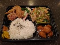 中華弁当(夕食)