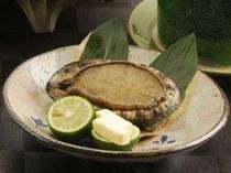 【料理・季節メニュー】(5月〜8月限定 あわびプラン一例)