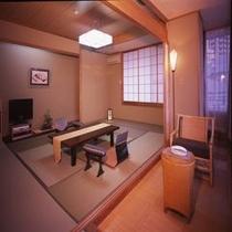 部屋は最大15畳。ちょっと広めの和室