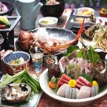 お食事重視の方へ、「伊豆海コース」