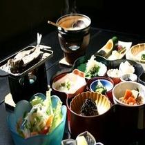 朝の和食は心がホッとします