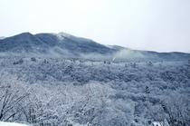 雪のアポイ岳