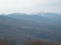 八子ヶ峰より八ヶ岳連峰を眺望
