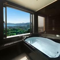 最上階特部屋 展望半露天風呂