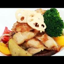 【肉料理】季節の野菜のチャンボッタと一緒に