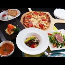 【グレードアップ】仙台牛のカットステーキ付の夕食