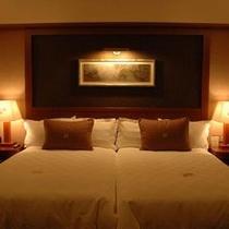 お部屋の寝室は、ハリウッドタイプのベッドルームを採用しております