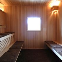 【サウナ】サウナ室には、シャワー、水風呂、マッサージチェアーもありますので是非ご利用ください。