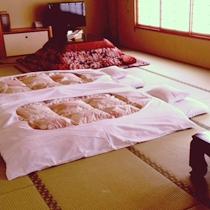和室でコタツ