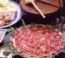 ビタミンが豊富といわれる「猪肉」♪♪「ぼたん鍋」イメージ