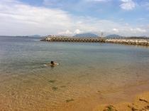 西山海水浴場