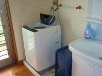洗面台・洗濯機(洗剤付き)