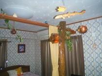 木彫りのおさかな