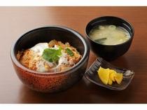 かつ丼(500円)