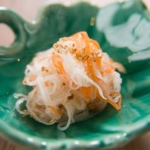 季節野菜の小鉢2品