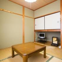 【和室4.5畳】1名様ご利用のお部屋