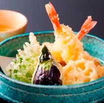 【ビュッフェ】天ぷら盛り付け例