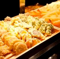 【ビュッフェ】揚げたて天ぷらコーナー