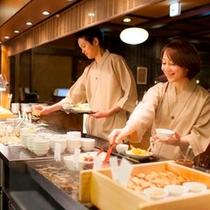 【夕食】旬菜バイキング