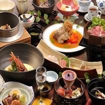 夕食【くずし懐石料理】