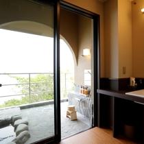 【新館】岩露天風呂付き客室