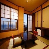 【本館】海の見える客室