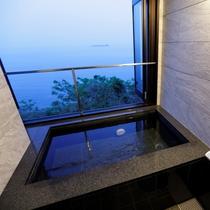 【新館】客室半露天風呂