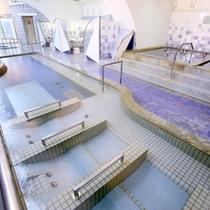 【つぬがの湯】光明石温泉はミネラルたっぷり♪色んな浴槽でお楽しみ下さい。