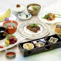 【旬祭グルメコース一例】会席コースがグレードUP!北陸・若狭の季節の食材を会席でご堪能下さい。