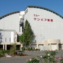 【外観】JR北陸本線敦賀駅より車で約8分。ゆったり広めのお部屋と大浴場が自慢です♪