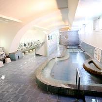 【つぬがの湯】当館のお湯は自慢の光明石(天然鉱石)温泉。23時までご入浴いただけます。