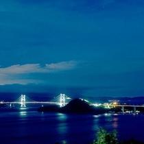 鳴門の夜景をお愉しみください。