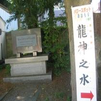 善知鳥神社のパワースポット