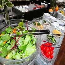 レストラン「北の番屋」サラダコーナー