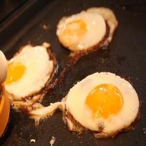 レストラン「北の番屋」作りたての卵料理