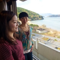 全室 琵琶湖のレイクビュー