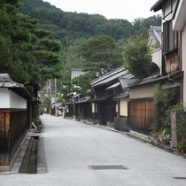 近江商人の町並み(2)