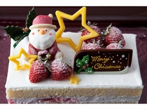 クリスマスケーキ(生クリーム)2015