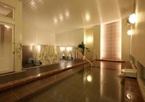 男性大浴場 8つの洗い場 一日の疲れをリフレッシュ♪
