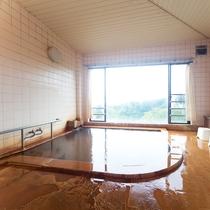 *【温泉/女湯】大浴場からの眺めは最高!24時間、いつでもお好きな時間に入浴できるのも魅力的♪