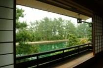 【客室共通】2階からは天橋立運河を一望(写真は雪月花の棟)