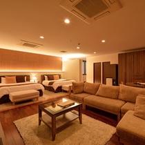 *プレミアムスイート(1303号室)/快適性を追求したお部屋は、大人の静寂な休日を演出。