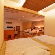 *プレミアムスイート(1301号室)/畳の香りがほのかに薫る空間で安らぎの時を。