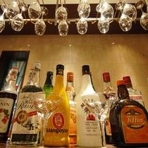 バーカウンター:バンケットに常設しており、飲み物の種類も豊富です