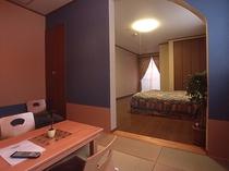 展望風呂付き 和洋室206号室(洗面・トイレ完備)