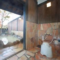 【貸切風呂】洗い場