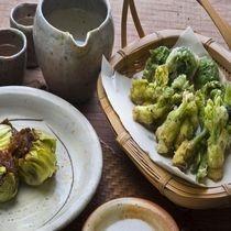 山菜料理<イメージ>