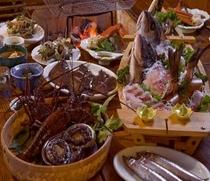 炭火海鮮料理