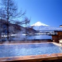 露天風呂『富士見の湯』_青