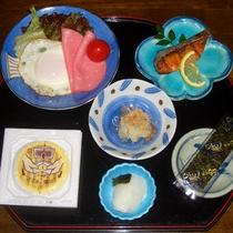 <ビジネス向け朝食>翌朝は和定食をご用意します。